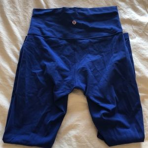 LuLu Lemon 🍋 Royal Blue Leggings